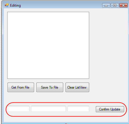How To Edit Items in a Windows Forms ListView - Ged Mead's Blog