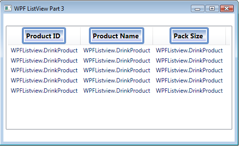 WPF ListView Column and Cell Formatting - Ged Mead's Blog